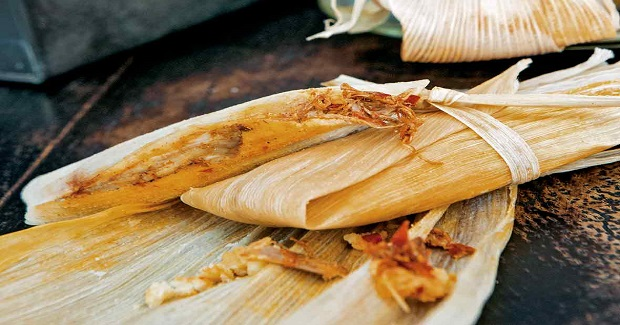 Red Chile Pork Tamales Recipe