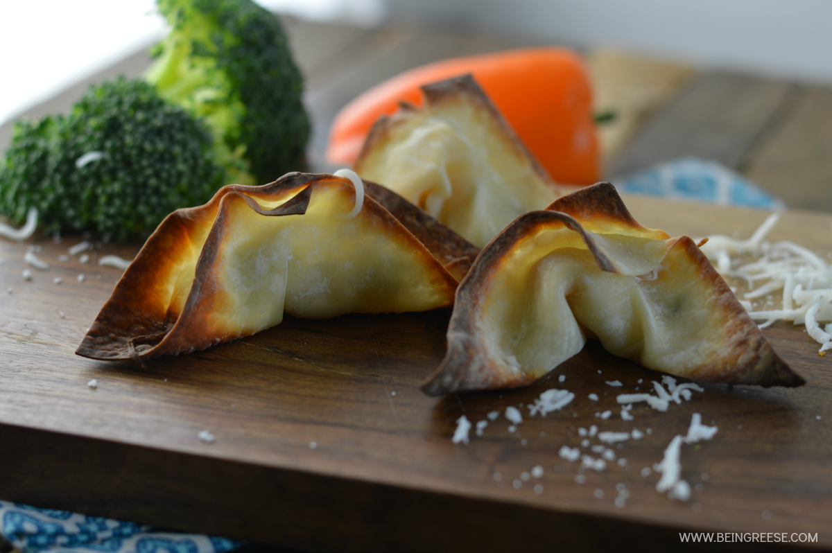 Easy to prepare and make veggie wontons that look and taste amazing