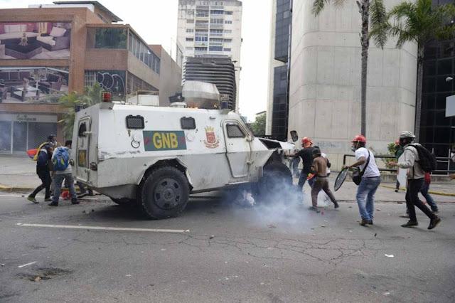 Negaron ordenar detención de GNB que habría arrollado a manifestante