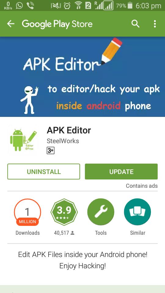 apk editor hack download