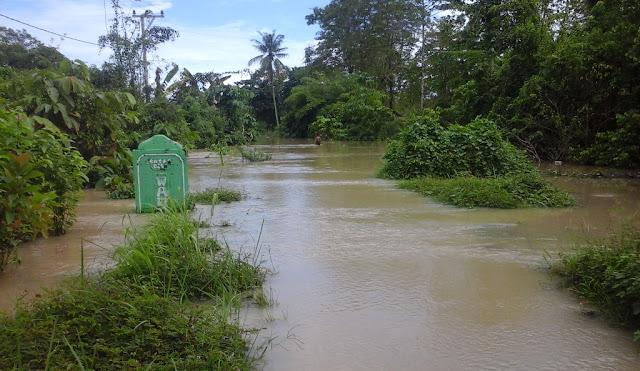 Banjir di Malbar Masih Tinggi, Siswa Terpaksa Diliburkan