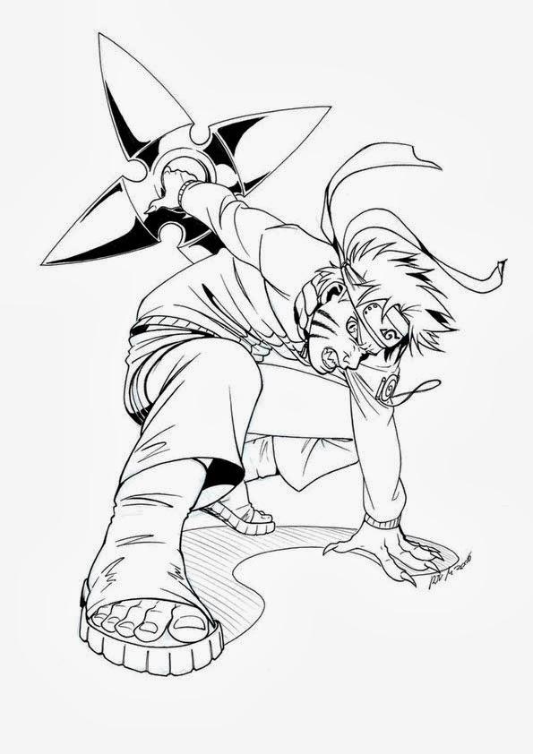 Desenhos : Desenhos do Naruto para Colorir e Imprimir
