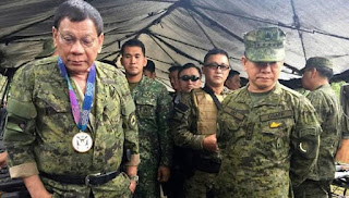 Duterte Umumkan Marawi Sudah Dibebaskan dari Teroris
