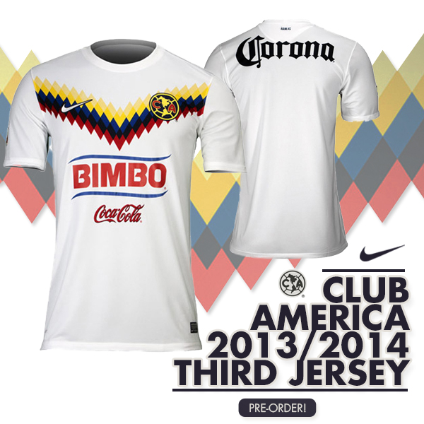 9622f172742 Nike Club America 2013 14 3rd Jersey - Azteca Soccer.com