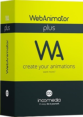 Incomedia WebAnimator Plus 3.0.1 poster box cover