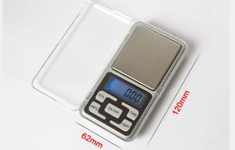 Cân tiểu ly điện tử bỏ túi 500g x 0.1g