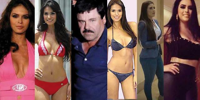 """Militares encuentran catalogo de bellezas de """"El Chapo"""" y sus amigos y sus nombres"""