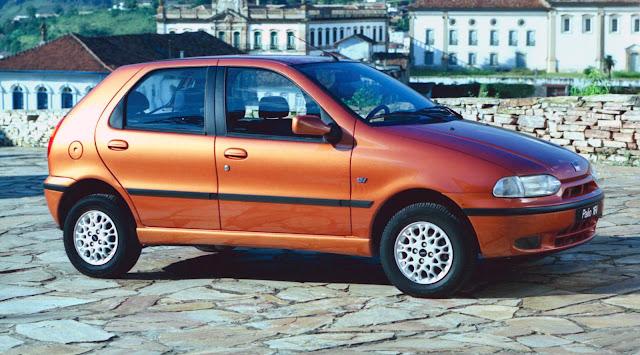 Fiat Palio chegou em 1996
