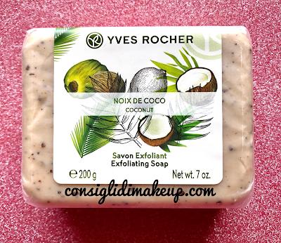 Sapone esfoliante corpo Yves Rocher, uno scrub veloce, pratico da fare sotto la doccia!