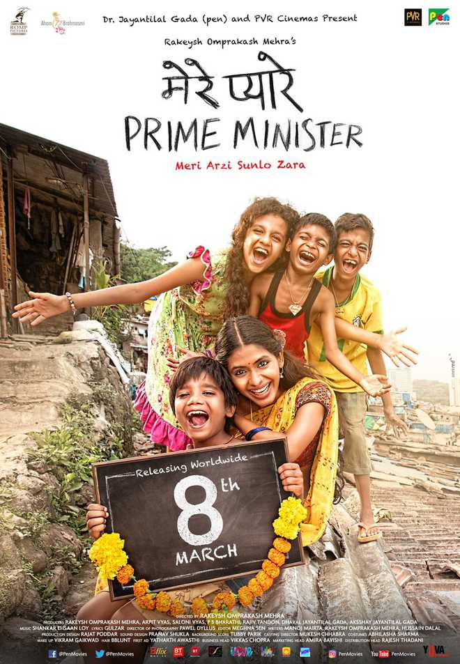 Mere Pyaare Prime Minister 2019 Hindi Pre-DVDRip x264 700MB