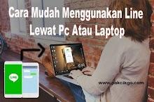 Cara Mudah Menggunakan Line Lewat Pc Atau Laptop