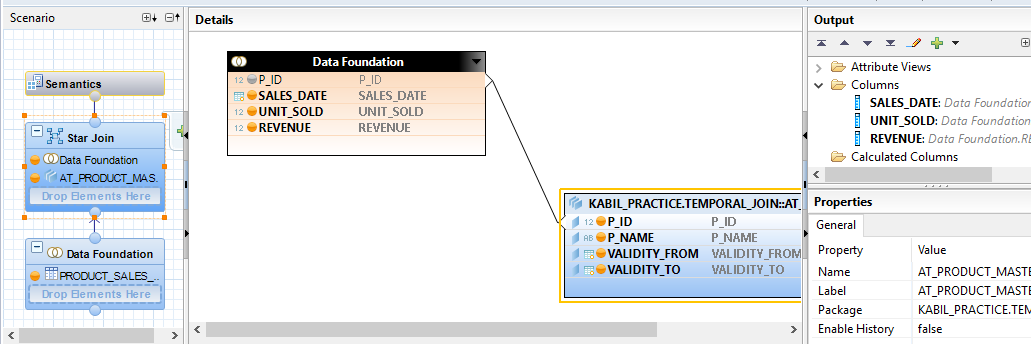 Temporal Join in SAP HANA | HANA