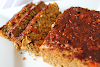 Savory Chickpea Loaf with Barbecue Glaze