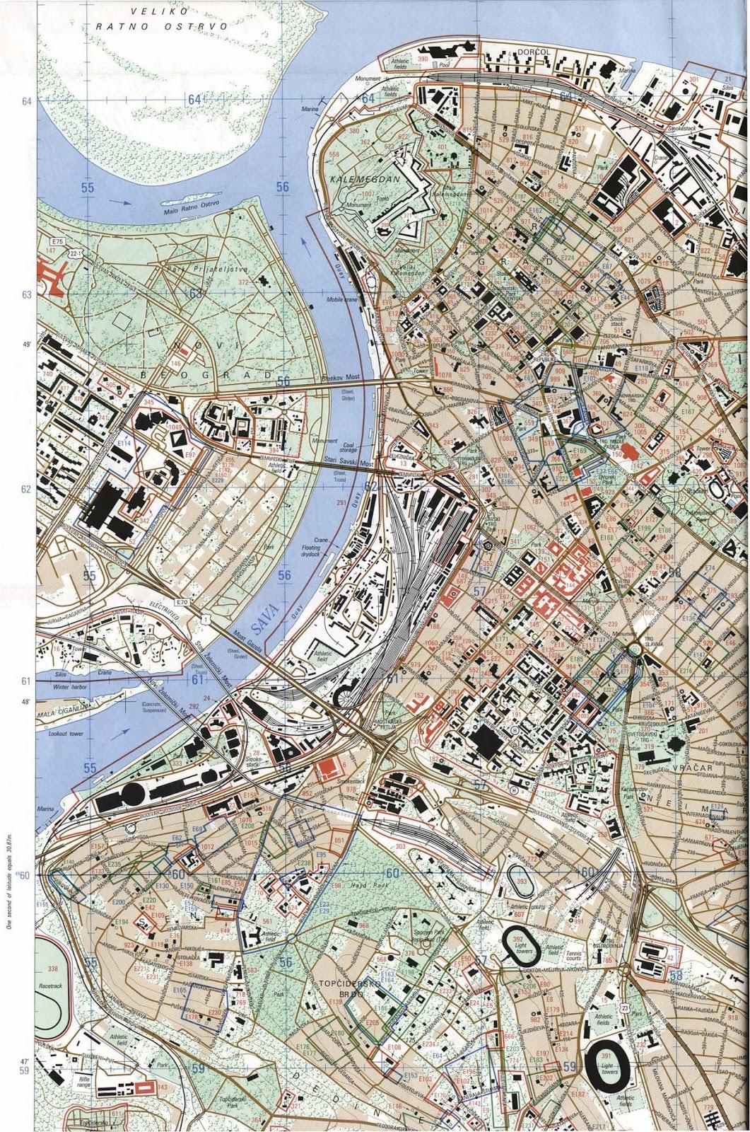 zemun serbia tourist map pdf