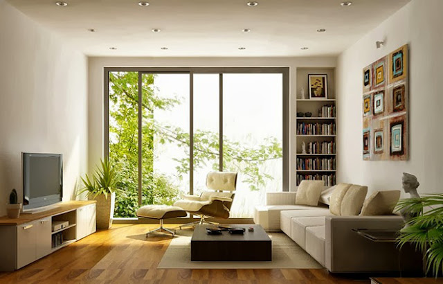 Tthiết kế phòng khách căn hộ The K Park