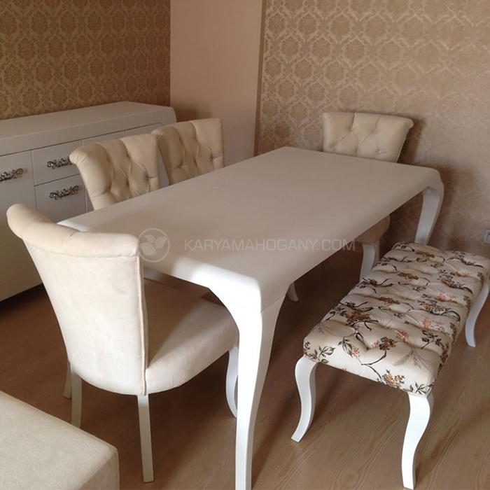 Meja Makan Minimalis Duco | Furniture Jepara Terbaru