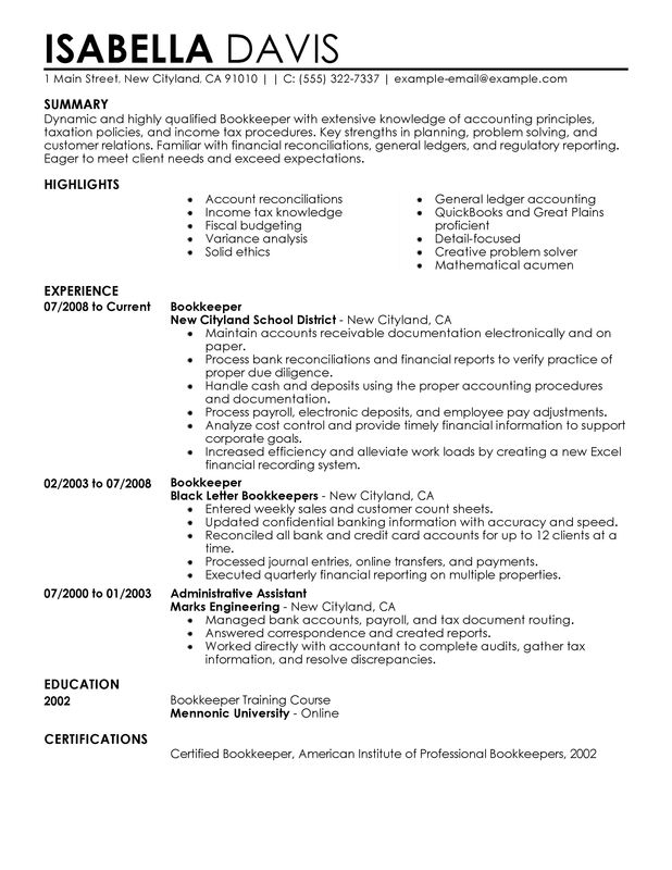 Senior Accountant Resume Word Format Accounting Template Ready Use  Senior Accountant Resume