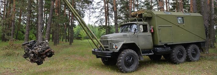 Полковник вкрав 16 лебідок з танкових майстерень на базі ЗіЛ-131