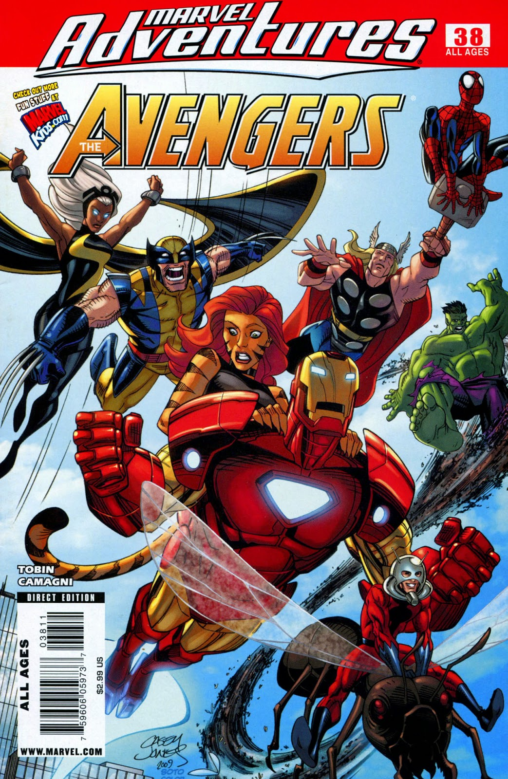 marvel adventures the avengers 038 2009 reading comics online for free. Black Bedroom Furniture Sets. Home Design Ideas