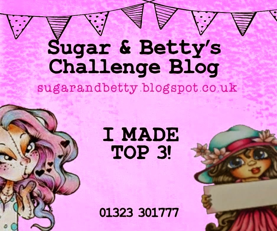 SUGAR & BETTY TOP 3 - APRIL 2015 CHALLENGE
