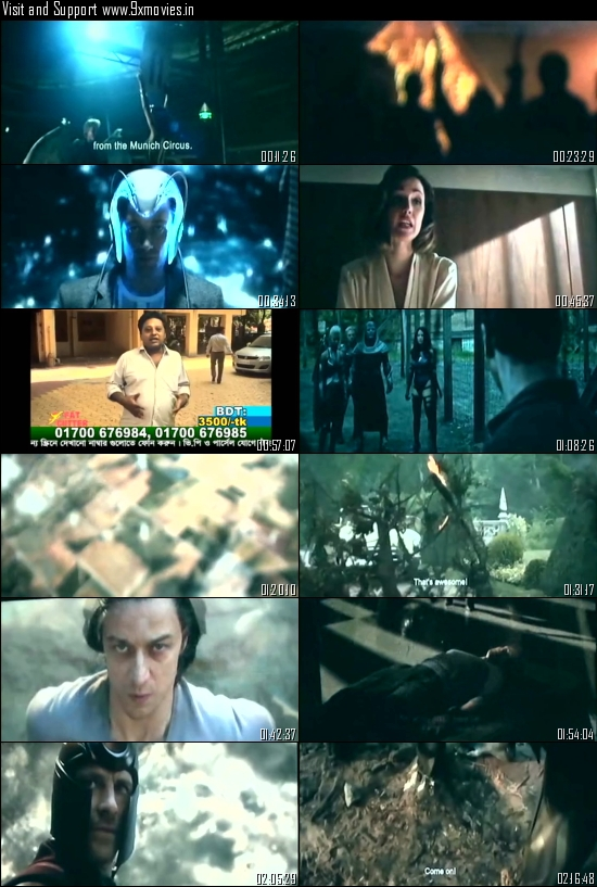 X-Men Apocalypse 2016 Hindi Dubbed CAMRip