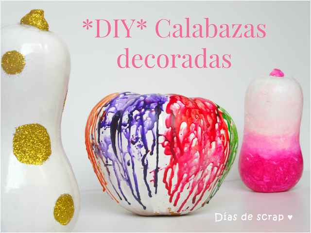 como decorar calabazas aprende handmade