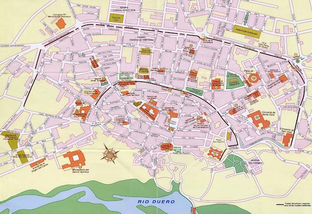 Mapa de Toro