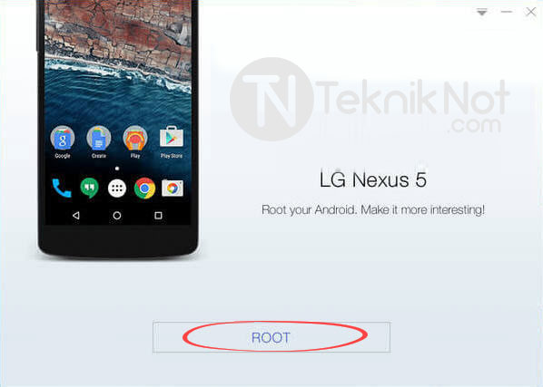 Kingo ROOT ile Bilgisayarda Root yapma