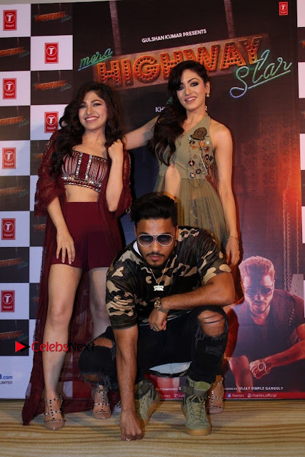 Raftaar & Tulsi Kumar At The Launch Of Single Song  0043.JPG