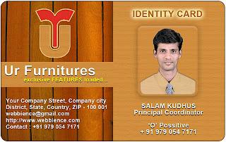 ID card Templates - Furniture IDCard - 02