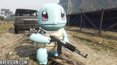GTA 5 POKEMON