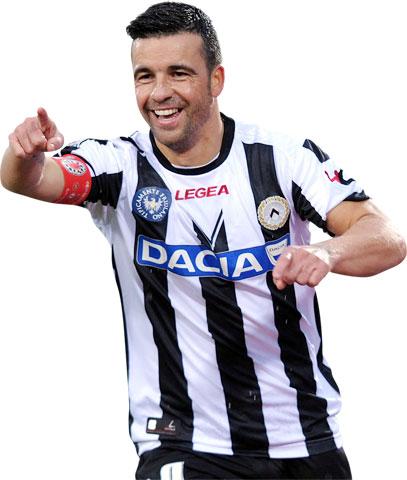 Di Natale đáng được coi trọng bởi Serie A