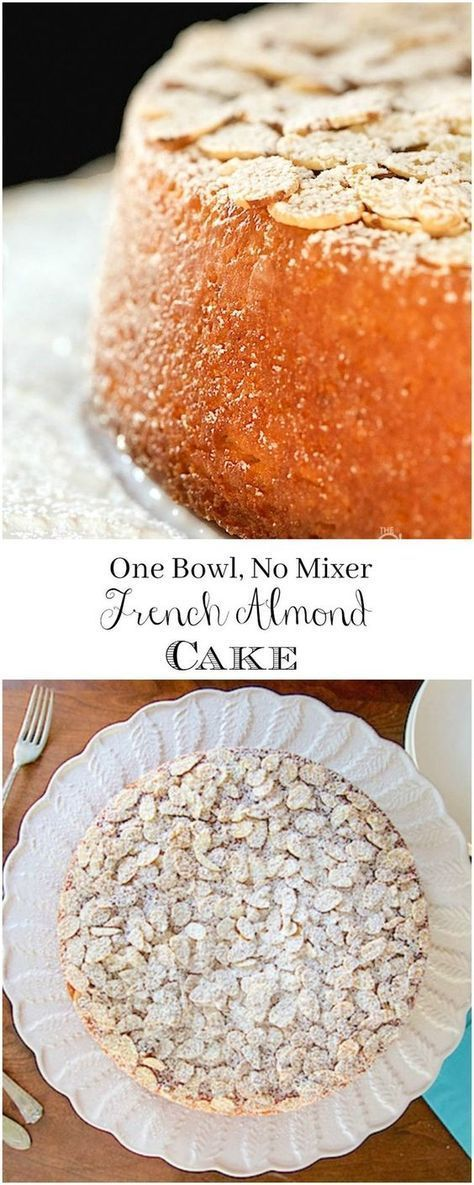 FRENCH ALMOND CAKE
