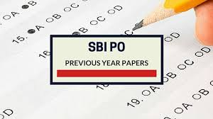SBI PO Previous Exam Question Papers PDF Download