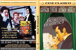 Carátula: El arbitro de la elegancia (1954)(Beau Brummell)