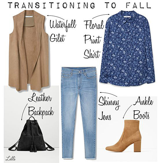 Transitional Outfit Idea
