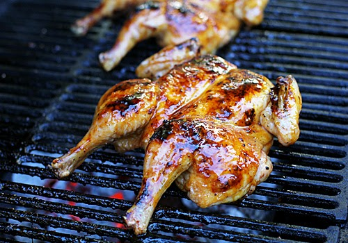 The Galley Gourmet Grilled Butterflied Brown Sugar Chicken