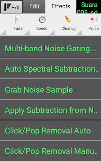 Cara Menghilangkan Noise Pada Rekaman Suara Android