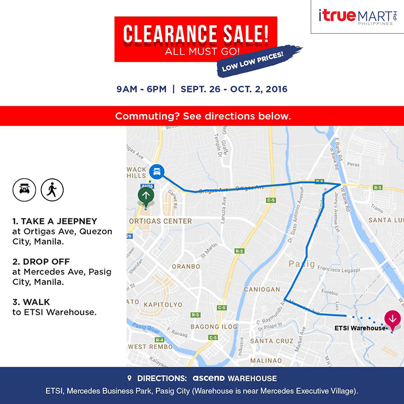 iTrueMart Will Hold A HUGE Up To 80% Clearance Sale Soon!