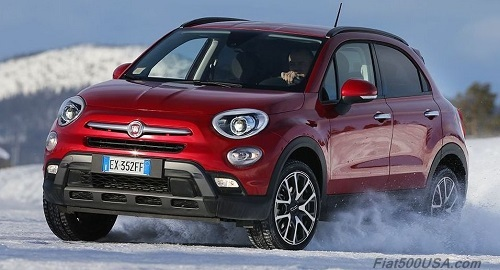 Fiat 500X Cross (European Trekking)