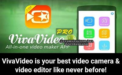 تحميل تطبيق فيفافيديو للتعديل على الفيديوهات vivavideo pro