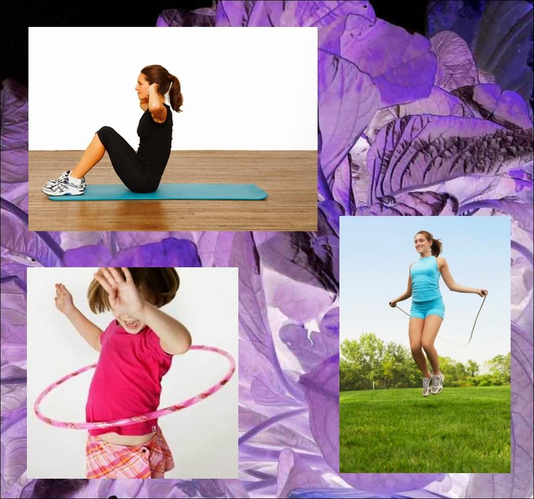Olahraga mengecilkan pinggul paha dan betis crafts