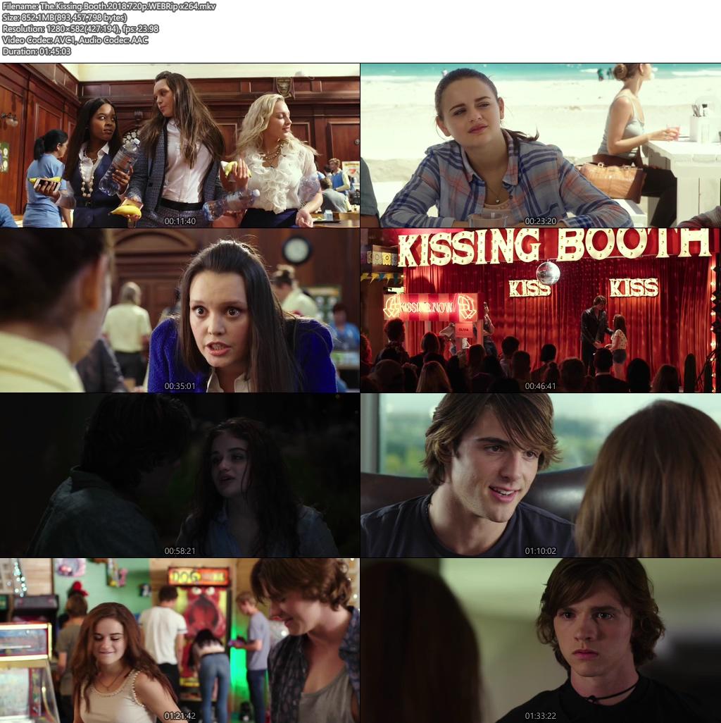 The Kissing Booth 2018 720p WEBRip | 480p 300MB | 100MB HEVC Screenshot