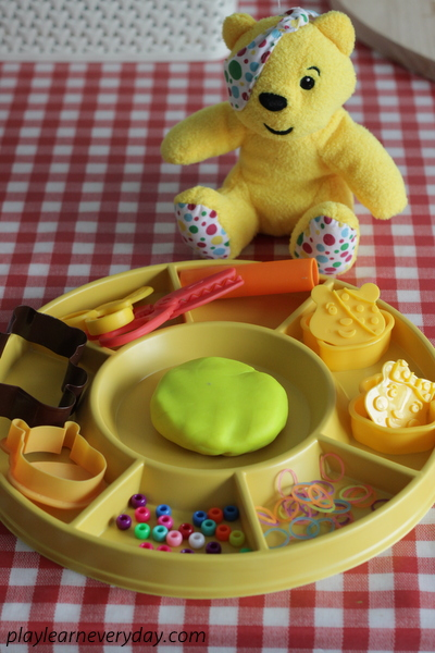 Pudsey Bear Play Dough For Children In Need Play And Learn