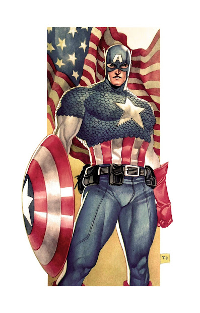 Fashion And Action Super Soldier Sunday - Captain America