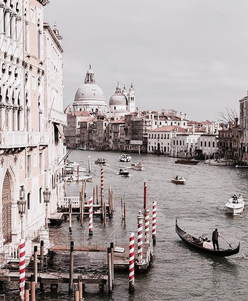 The Grand Canal is a canal in Venice, Italy.