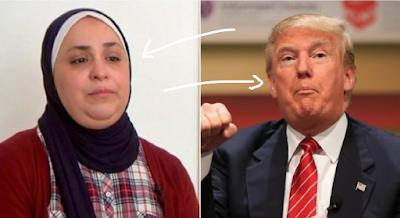 """ترامب يمنع هذه السيدة المسلة من دخول أمريكا.. بسبب أدعية """"الواتساب"""".... لن تصدق من اي بلد تكون"""