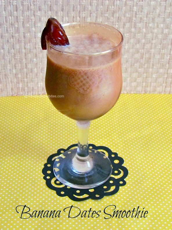 Banana Dates Smoothie
