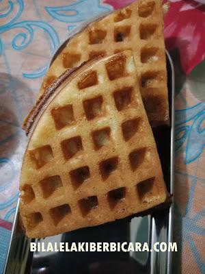 Waffle Stick, Round Waffle, Resepi Waffle Crispy, Berniaga Waffle