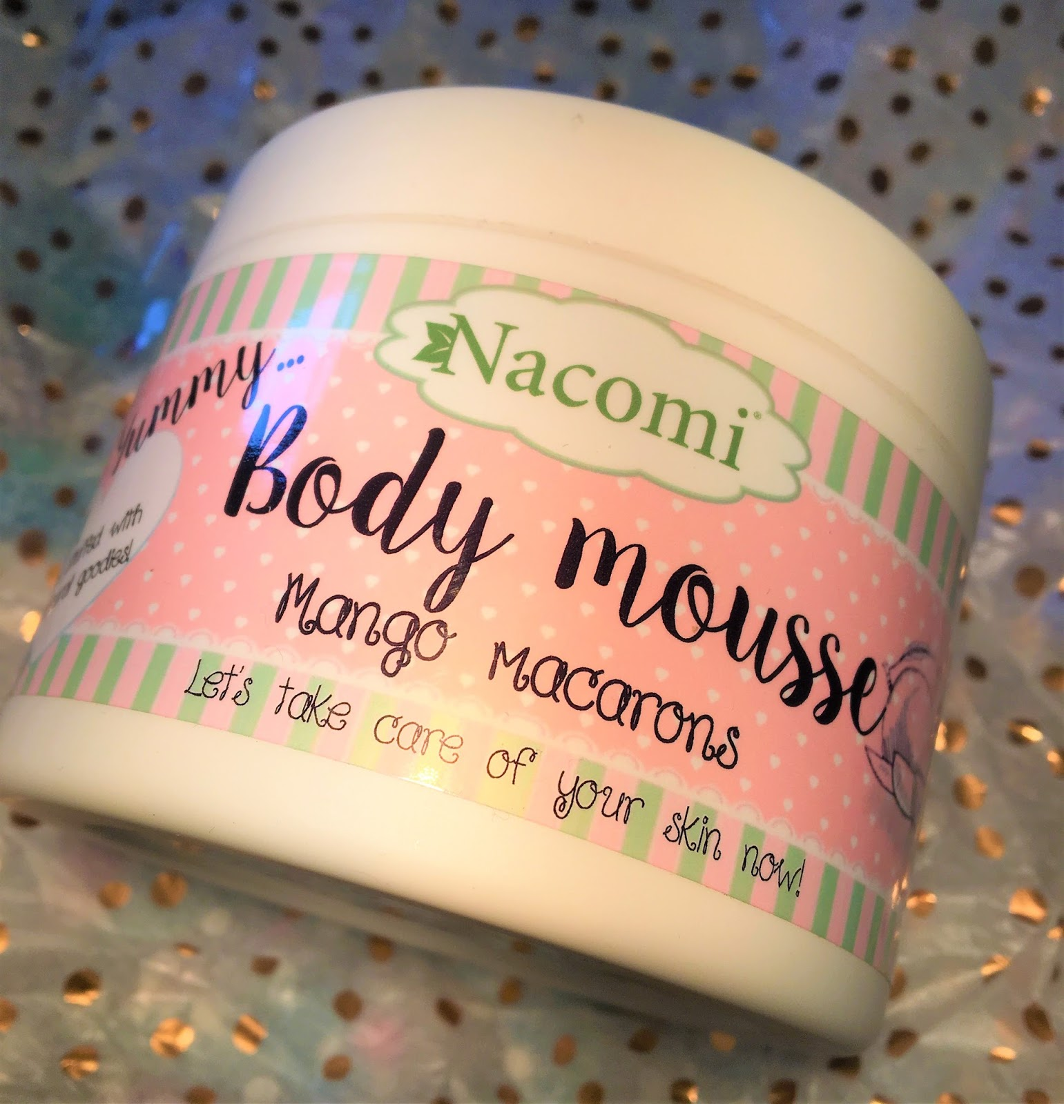 Nacomi UK Mango Macarons Body Mousse